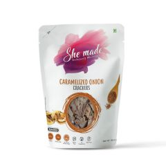 She Made Caramelized Onion Cracker (Pack of 2) -56.6gm*2