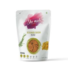 She Made Toast - Rosemary and Raisins (Pack of 2) -56.6gm*2