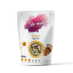 She Made Almond Biscotti (Pack of 2) -56.6gm*2