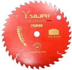 Premium Quality Ths Yuri Circular T.C.T Saw Blade Multicutter 7, 2.3 X 40T (Pack Of 1)