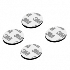 3M 40mm Dia Multipurpose Double Sided Sponge Glue Adhesive Dash pad for GPS-4Pcs