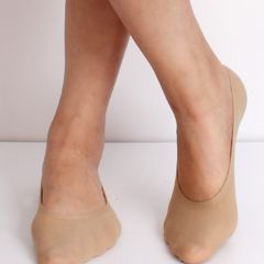 Seamless Skin Color Ankle Socks Unisex|One size
