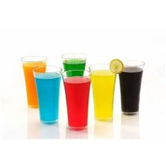 High-Quality Glassware & Drinkware Juicy Glass, Transparent Glasses Set 300ml (Pack OF 6 pcs)