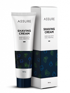Assure Shaving Enrich with Cool Menthol Cream (Pack of 1)
