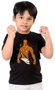 Trendy Jay Shree Ram Printed Round Neck T-shirts For kids