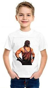 Demon-Kane-T-Shirts Printed Round Neck T-shirts For Kids