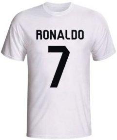 Casual & Stylish Critiano-Ronaldo Printed Half Sleeves T-Shirts For Kids