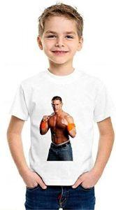 Stylish John-Cena Printed Half Sleeves T-Shirts For Kids