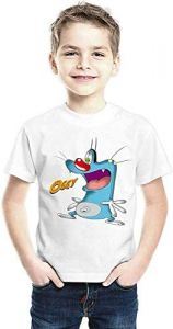 Casual & Stylish Ogay Printed T-Shirts Wear With Jeans For Kids