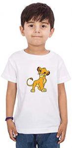 Trendy Regular Wear Litle-Lion Printed T-Shirts Half Sleeves For kids