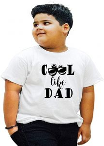 Regular Wear, Half Sleeves World-Greatest-Dad Printed T-Shirts For Kids