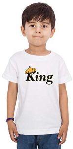 Casual & Regular Wear Design-King-Boy Half Sleeve T-Shirt For Kids
