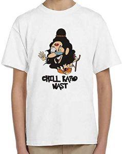 Regular Wear, Round Neck Design-Chil-Kro Half Sleeve T-Shirt for kids