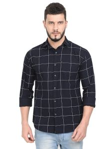 Aidhan Paul Comfortable, Fashionable & Regular Fit, Casual Checkered Shirts For Men's (Pack of 1)