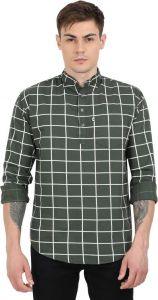 Aidhan Paul Comfortable, Fashionable & Regular Fit Checkered Pure Cotton Straight Kurta For Men's