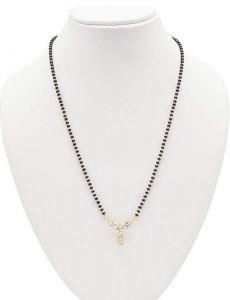 American Diamond Mangalsutra Stylish Simple (Pack of 1)