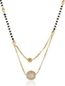 Trendy American Diamond Mangalsutra
