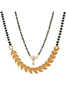 18K Gold Plated Mangalsutra Combo Pack