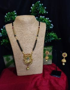 Antique Mangalsutra With Earrings For Women's