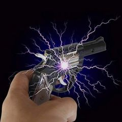 Shock Gun Gag Toy Gives Harmless Electric Shock (Pack of 1)