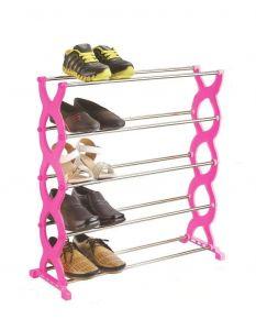 ANJA 5 Layer Folding Stackable Shoe Rack