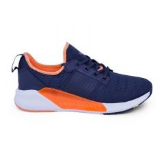 Men's Comfort and Designer Lace-Up Sports Shoes For Running and Gym (Blue)