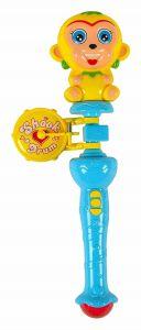 Plastic Material Monkey Shook Drum For Kids, Boys & Girls (Pack Of 1)