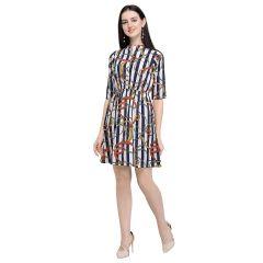 G.P Daisy Regular Wear Short, Stlyish Printed, Short Dress For Womens