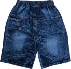 SHAURYA INNOVATION Party and Casual Wear Solid Denim Short For Boy's (Blue) (Pack of 1)