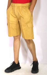 Solid Cargo Shorts For Men (Pack of 1)