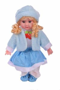 Singing 5 Poems To Press The Doll, Toy For Kids, Girls (Pack Of 1)