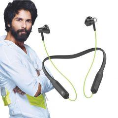 U&I Sixer Series Trending Bluetooth Headset (Neon),12 Hours Battery