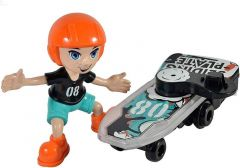 Indoor & Outdoor Battery Operated Lights & Music Bump, Go Riding My Skateboard Toy (Pack Of 1)