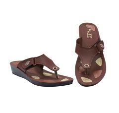 Flite Comfort, Stylish, Light Weight And Durability Flip Flops Slipper For Women (PUL-73)