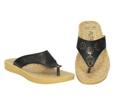 Flite Comfort, Stylish, Light Weight And Durability Flip Flops Slipper For Women (PUL-65)