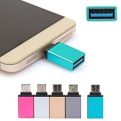 KSJ Type C To USB 3.0 OTG Adaptor For Android Smartphones, Pen Drive, Keyboard (Pack Of 3)