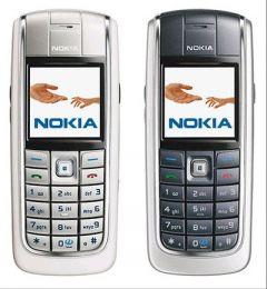 Refurbished Nokia 6020 Mobile Phone White 760 mAh Battery (Pack Of 1)