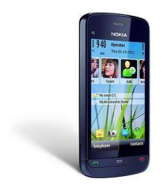Refurbished Nokia C5 03 Mobile Phone 5 MP Rear Camera (Pack Of 1)