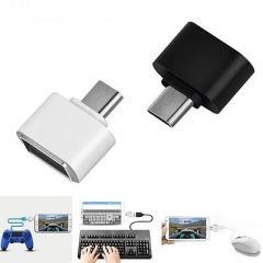 Micro USB to USB OTG Adaptor for Android Smartphones For Flash Drive, Mouse, Keyboard & Some Digital Cameras (Pack Of 5)