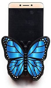 Butterfly Mobile Holder Applicable To All Kinds Of Mobiles Below 6.2 Inch Size Mobile (Pack Of 1)