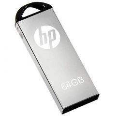 HP V220W Metal USB 2.0 64 GB Pendrive Fast Data Transfer (Pack Of 1)
