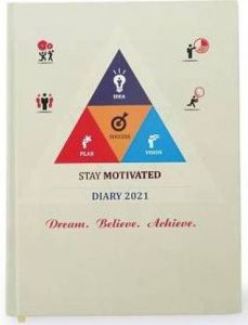 Toss 2021 B5 Diary 330 Pages (Multicolor) (Pack Of 1)