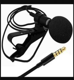 Champ Pin Youtube Mike, Aux Cable For Youtuber, Tiktoker | High-Quality Audio & Voice (Pack Of 1)