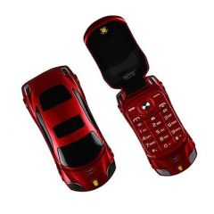 Ringme R1 Car Design Keypad Flip Phone With Dual Sim With 0.08mp Camera Mp3 & Mp4 Player