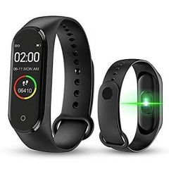 M4 Intelligence Bluetooth Smart Watch/Smart Bracelet/Health Band/Fitness Band/with Heart Rate Sensor Compatible For All Androids & iso