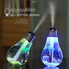 USB Air Humidier Light Bulb Humidier Portable Desktop LED | Air Freshener Car Air Freshener (Pack Of 1)