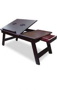 Trendy Wooden Laptop Table Ideally Designed For Laptop Accessory (Pack Of 1)