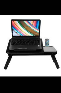 Trendy Wooden Laptop Table Ideally Designed For Laptop Notebook Table (Pack Of 1)
