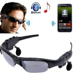 Bluetooth Smart Sunglasses With Wireless Earphones Attached For Hands-Free Calling (Pack Of 1)