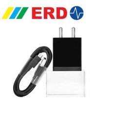 HEARME 5 V 2.4 Amp Fast Charger For Travel Adapter with Fast Charging Data Cable (Pack Of 1)
